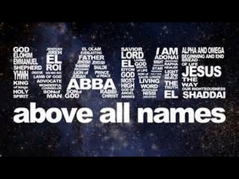 Name Above All Names The Great I AM Eternal God Judge