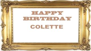 Colette   Birthday Postcards & Postales - Happy Birthday