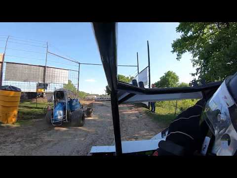 2nd Night of Spring Fling Started: 2nd Finished: 1st out of 10. - dirt track racing video image