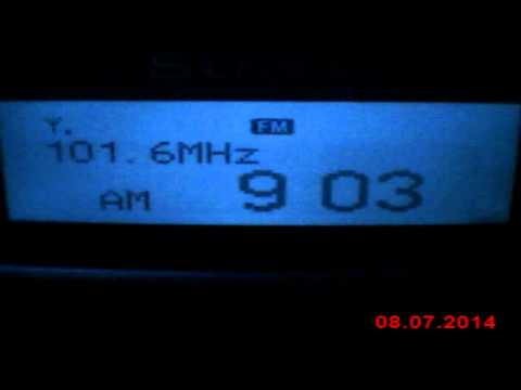 DX FM Radio Antena from Bor Serbia in Craiova Romania 140 km