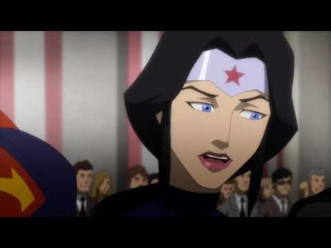Justice League Comic-Con Trailer 2 2017 Animated TV Series Game Style