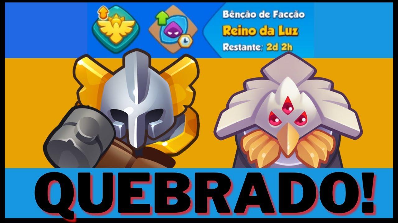 Rush Royale - META do Inquisidor + Bênção??? l Gameplay português PT-BR