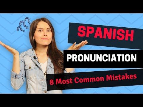 Spanish Pronunciation Guide - How to speak Spanish Like a Native