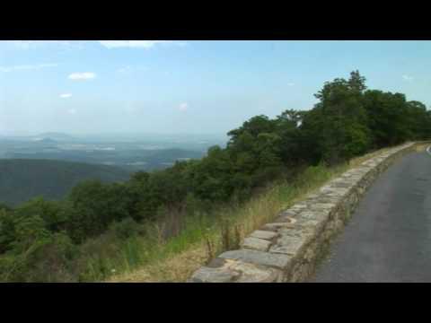 Indian Run Overlook Skyline Drive