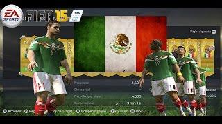 Fifa 15 Ultimate Team - Armando la seleccion de Mexico - Contratando a los mejores!!!