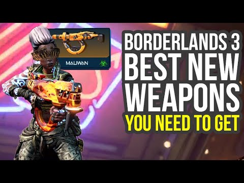 Borderlands 3 Best Weapons YOU NEED TO GET (Borderlands 3 Legendary Weapons) thumbnail