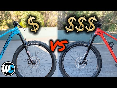 $3,000 Vs. $9,000 Mountain Bike - What's The Difference?