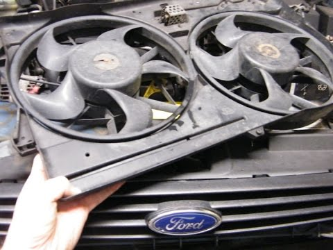 hqdefault ford focus radiator fan change youtube  at cos-gaming.co