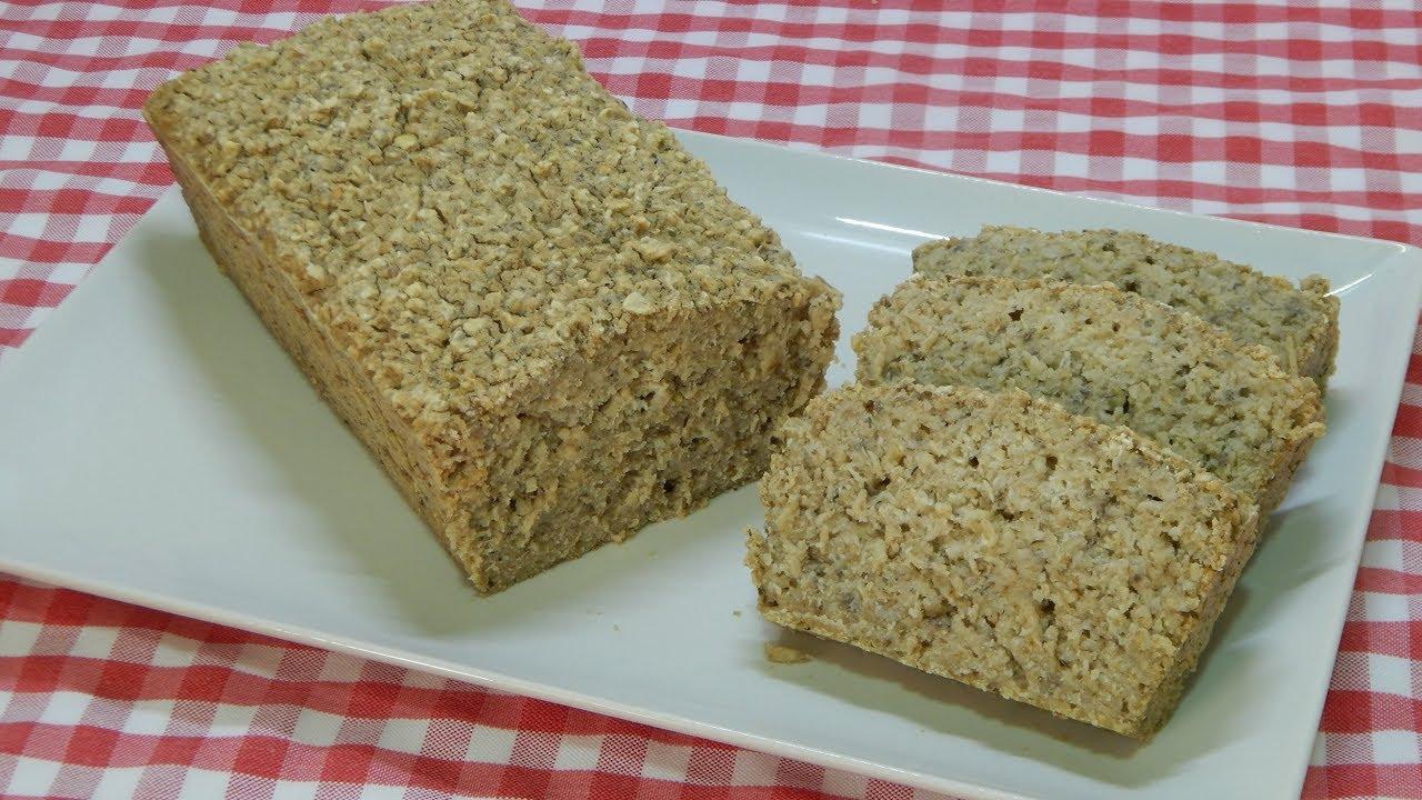receta pan de avena facil