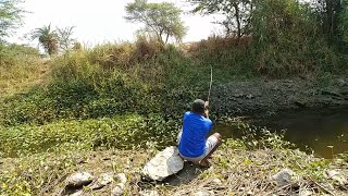 Fish hunting||Traditional fishing, catching for wallago fish, baam fish&tilapia
