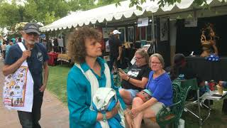 SWAIA 96th Annual Santa Fe Indian Market - Walking Around   Clip 4