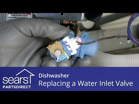 Replacing the Water Inlet Valve on a Dishwasher