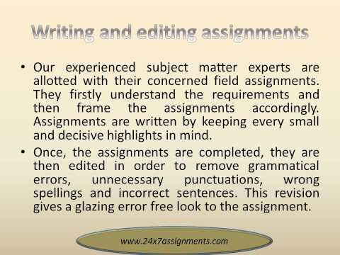 Writing assignments service the lottery