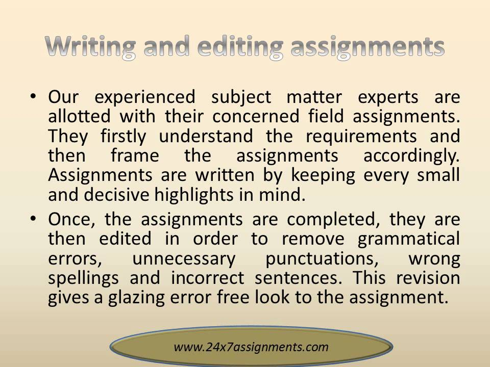 assignment writing service australia Assignment writing of the highest quality from top australian writers easily complete all your assignment writing tasks with our professional service.