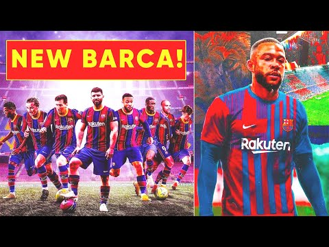 NEW BARCELONA WILL SHOCK THE FOOTBALL WORLD! This is how BARCA could line-up for 2021/22 season!