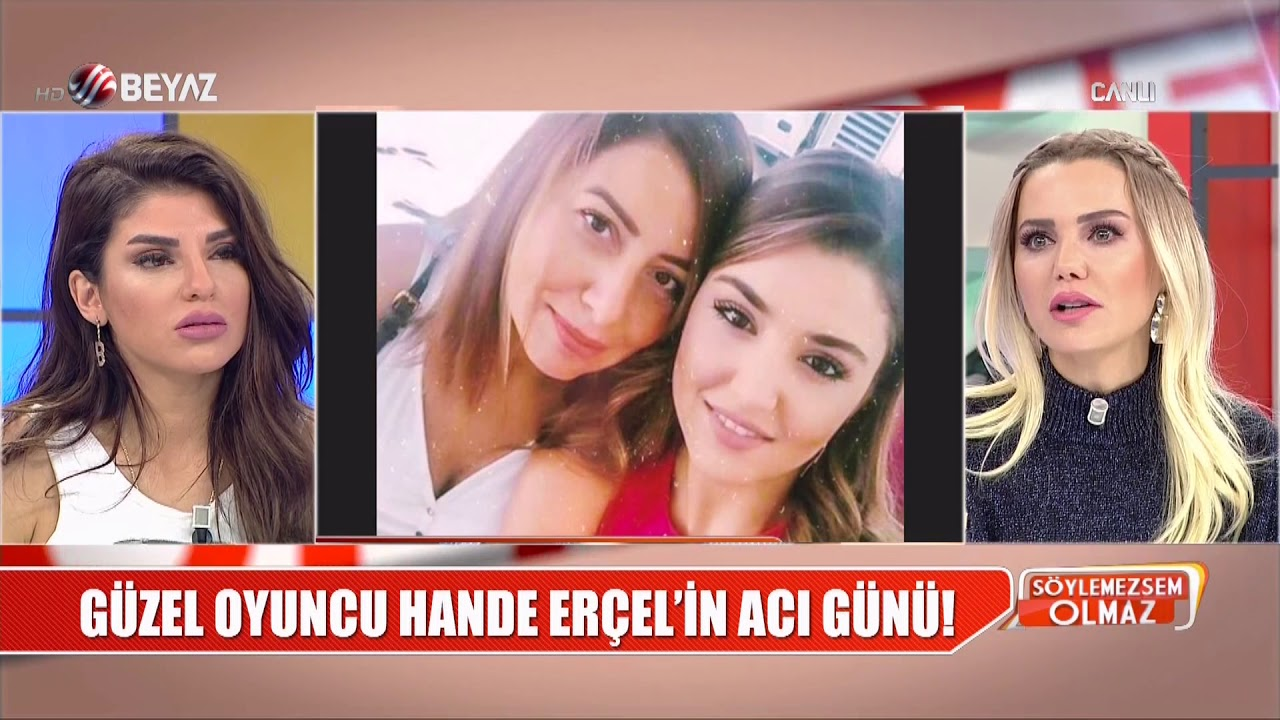 Hangi ünlü isimler Hande Erçel'i annesinin cenazesinde yalnız bırakmadı