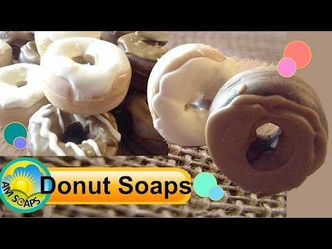 Making Glazed Donut Cold Process Soaps