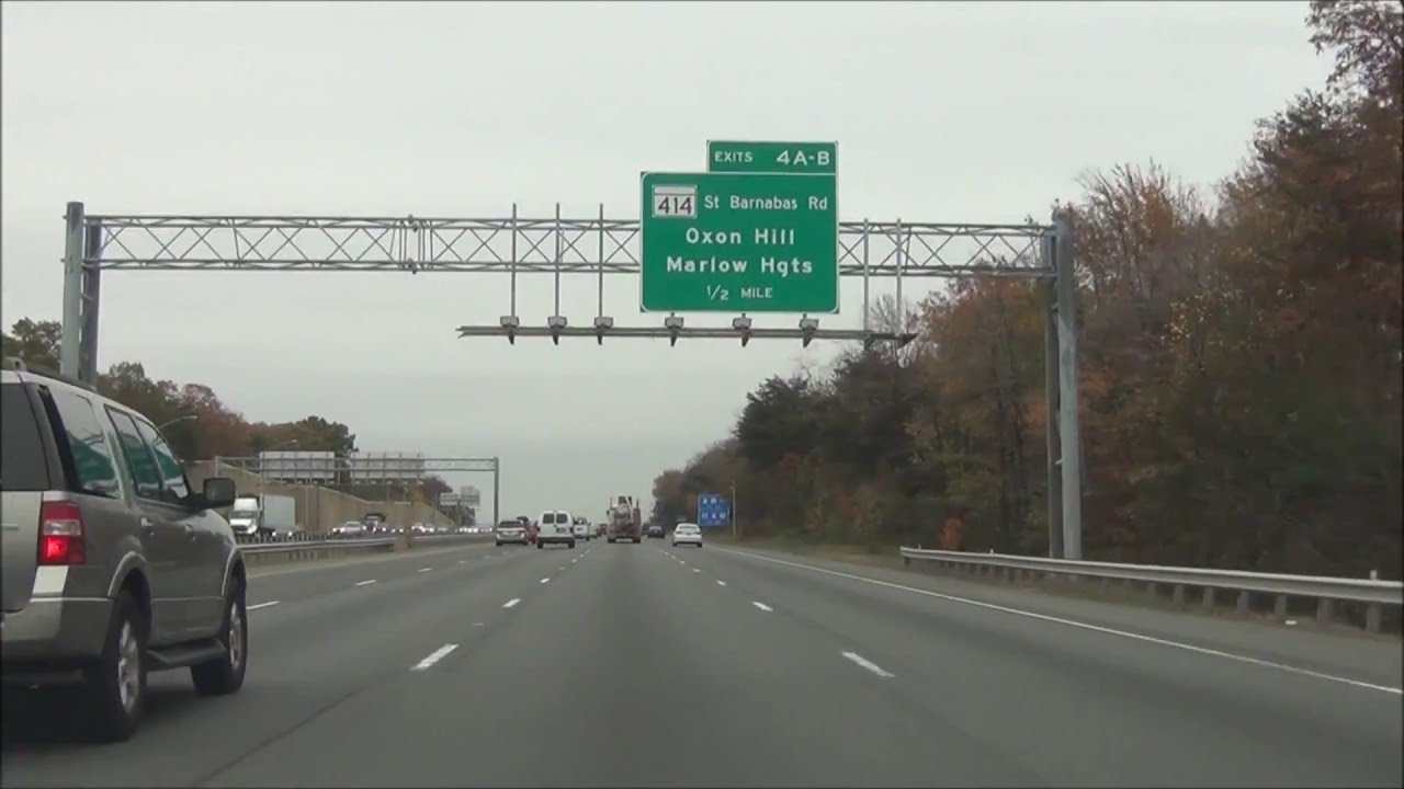 3k In Miles >> Maryland - Interstate 95 North - Mile Marker 0 to 10 (11/9/15) - YouTube