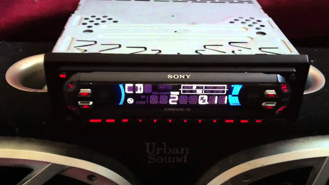 sony cdx f5500 [ 1280 x 720 Pixel ]