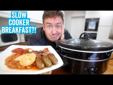 Slow Cooker Cooked Breakfast?! | Barry Tries #8