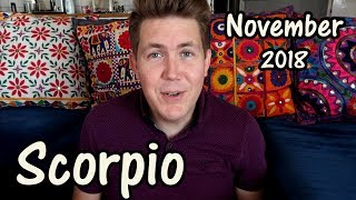 Scorpio November 2018 Horoscope   Gregory Scott Astrology