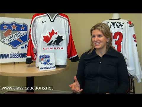 Entrevue avec Kim St-Pierre - Médaillée d'or et championne du monde