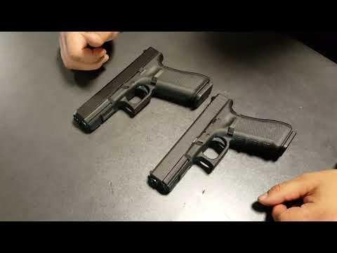 Пистолет GLOCK 17 Gen5. Обзор и сравнение с Gen4