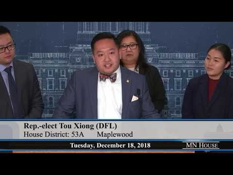 House DFL Press Conference12/18/18