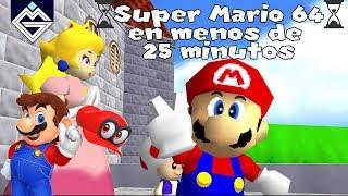 Super Mario 64 en menos de 25 minutos!