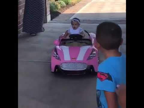 Randy Orton Daughter Brooklyn Orton derived her First Car ...