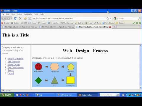 10 4 Gabungan Frame Horisontal Dan Vertikal Tutorial Belajar (X) HTML Fundamental (Lengkap)