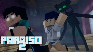 Minecraft: PARAÍSO 2 - #07 A CASA FANTASMA