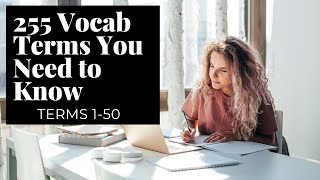 255 Real Estate Exam Vocabulary Terms you NEED to KNOW (1-50)