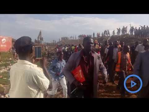 Raila makes surprise visit to the infamous Kisumu's Kachok dumpsite