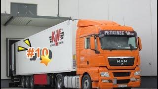 Euro Truck Simulator 2 Man TGX XLX İle Sefer /10/