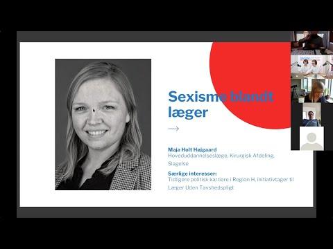 DASEM Årsmøde 2021 - Maja Højgaard - Sexisme blandt læger