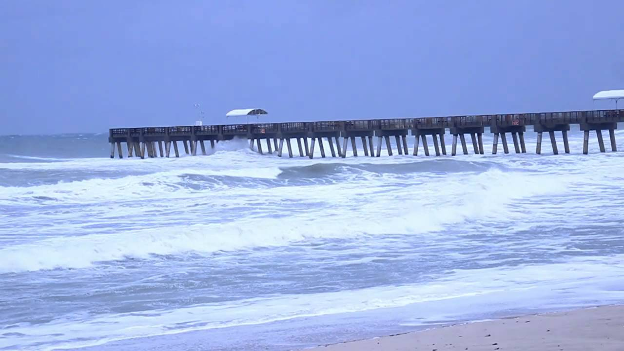 Huricane Sandy Ping Lake Worth Fl Beach And Pier