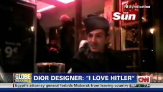 CNN: Dior designer, John Galliano