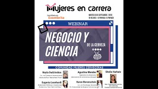 """""""Negocio y Ciencia de la Cerveza"""" con Comunidad Chicas Cerveceras"""