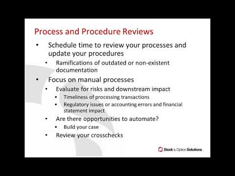 SOS Educational Webcast: Do This, Not That: How Do Your Procedures Measure Up?