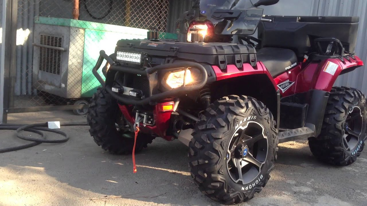Polaris sportsman touring 850 le full accessories youtube polaris sportsman touring 850 le full accessories publicscrutiny Images