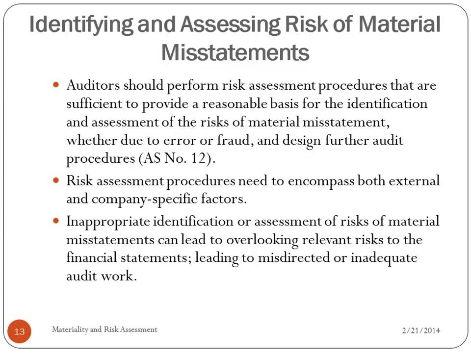 analysis of predicting material accounting misstatements In this paper, we develop prediction models of material accounting misstatements in a bayesian framework outputs of the bayesian approach are probabilistic.