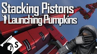 Space Engineers: Pistons and Rotors after the Physics Update (tests and tips for Space Engineers)