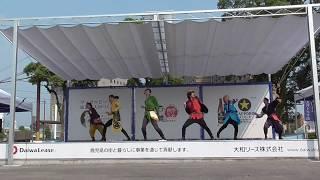 西郷どん大河ドラマ館特設ステージでのステージ、3回目です 楽曲は、+1...