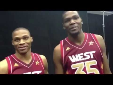 Kevin Durant Awkward Moments of NBA All Star Weekend With Russell Westbrook