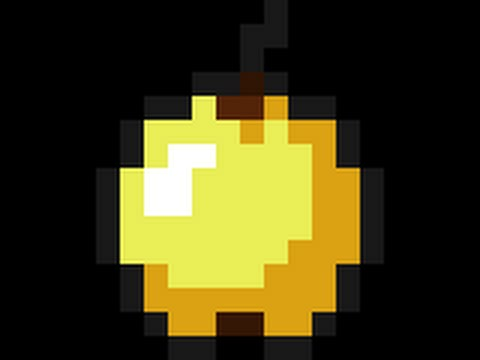 Minecraft Golden Apple Wallpaper Minecraft Tutorial: Go...