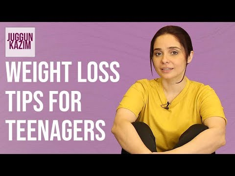 How To LOSE Weight For TEENAGERS | Diet Plan | Weight Loss Tips | Health & Fitness | Juggun Kazim