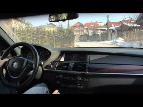 BMW X5 4.8i 2008 City Drive and in depth review (4K)