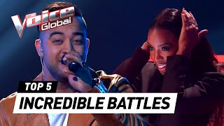 INCREDIBLE BATTLES in The Voice