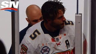 Max Domi Gets The Boot For Punching Out Aaron Ekblad
